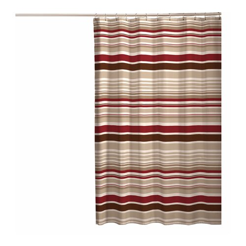 Meridian Polyester Fabric Shower Curtain