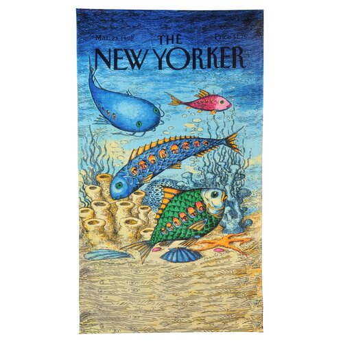 Home Source International Conde Nast Fish with People Inside Beach Towel