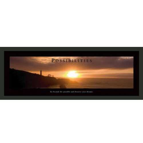Frames By Mail Motivational Possibilities Framed Photographic Print