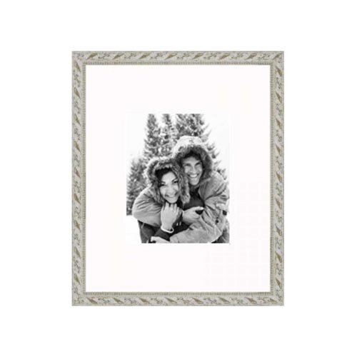 """Frames By Mail 16"""" x 20"""" Frame in Antiqued White"""