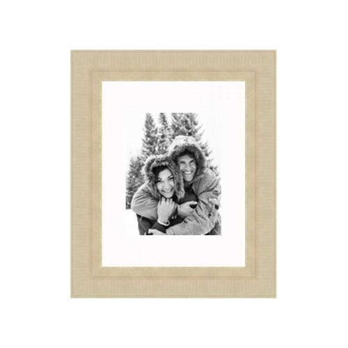 """Frames By Mail  11"""" x 14"""" Champaign Frame in Distressed Gold"""