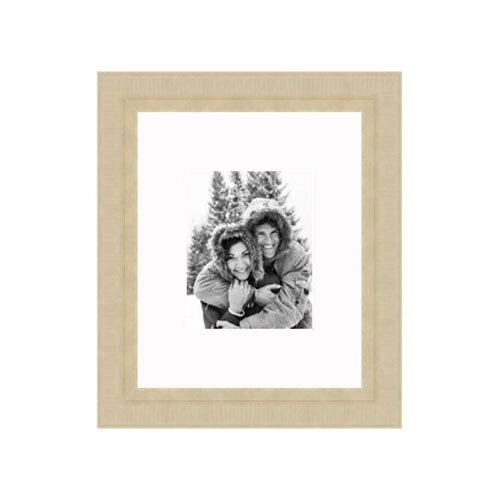 """Frames By Mail 16"""" x 20"""" Champaign Frame in Distressed Gold"""