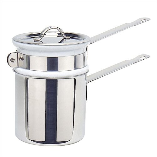Mauviel M'cook 0.9-qt. Cupretam Double Boiler with Lid