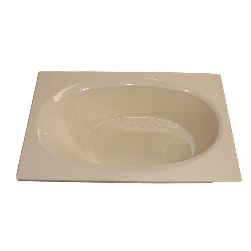 """American Acrylic 72"""" x 42"""" Soaker Bathtub"""
