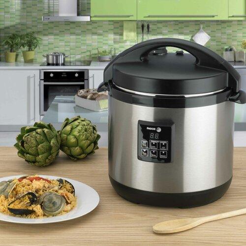 Fagor 6-Quart Electric Pressure Cooker Plus