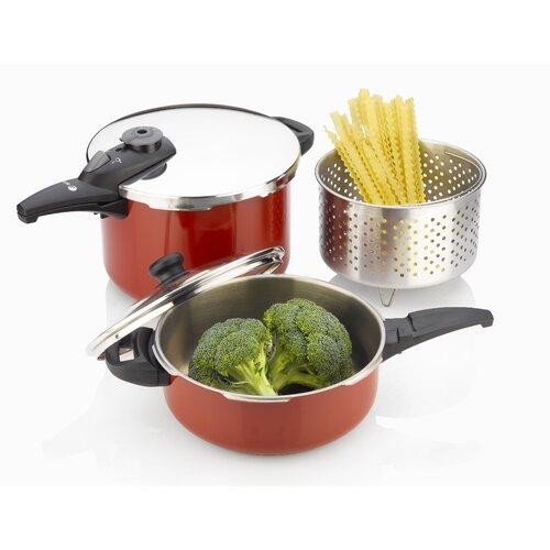Fagor Cayenne Pressure Cooker 5-Piece Cookware Set