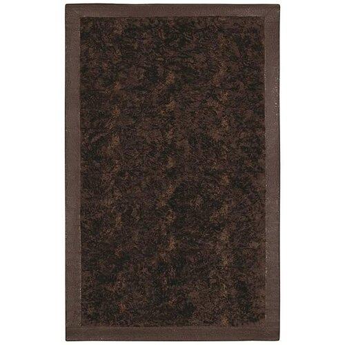Animal Hide Brown/Black Fur Rug