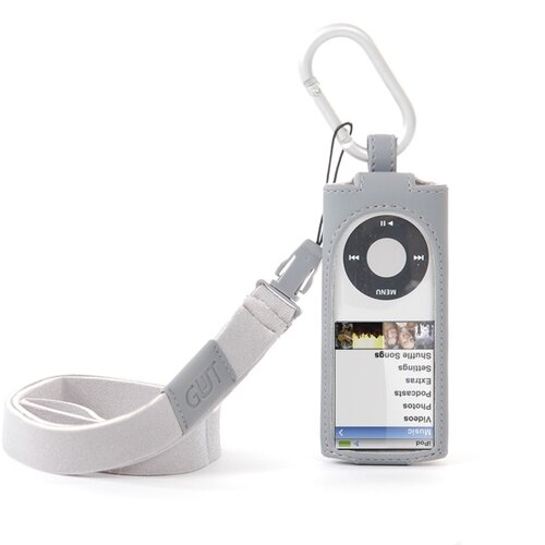 Gut Cases iPod Nano 4G Hang It Case in Gray