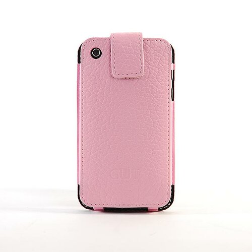 Gut Cases iPhone Classic Leather Sleeve in Pink