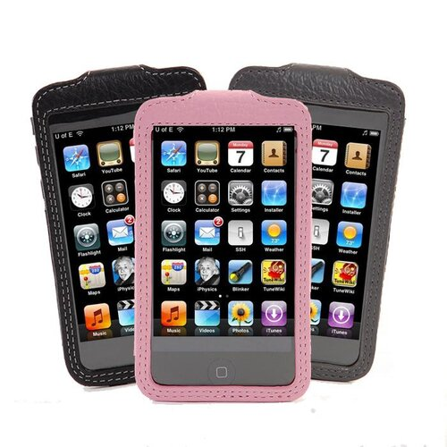 Gut Cases iTouch Classic Leather Sleeve in Black