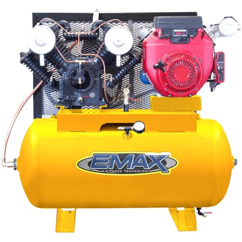 60 Gallon 18 HP Honda Electric Start 2 Stage Gas Air Compressor
