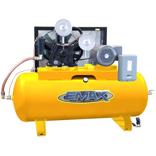 120 Gallon 15 HP 2 Stage Stationary Air Compressor