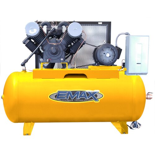 EMAX 120 Gallon 25 HP 2 Stage Stationary Air Compressor