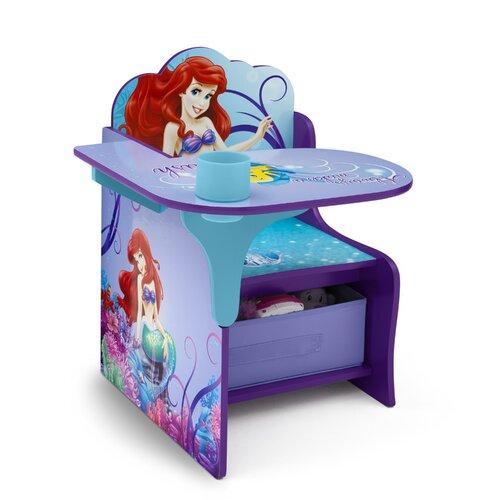 Little Mermaid Kid Desk Chair
