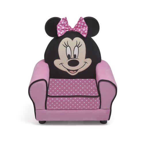 Minnie Mouse Figural Kid Upholstered Chair