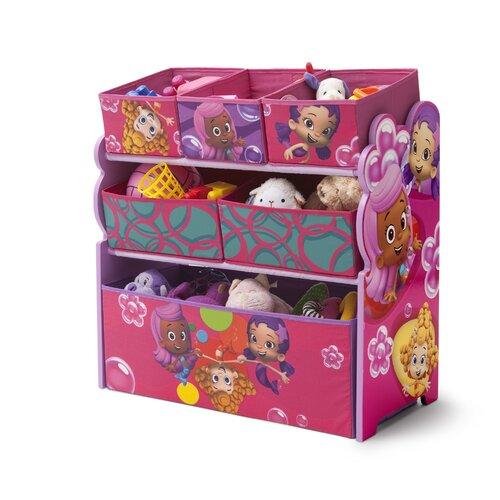 Delta Children Bubble Guppies Multi Bin Storage Organizer
