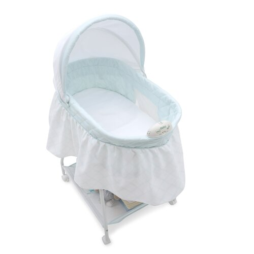Delta Children Sweet Beginnings Lattice Bassinet