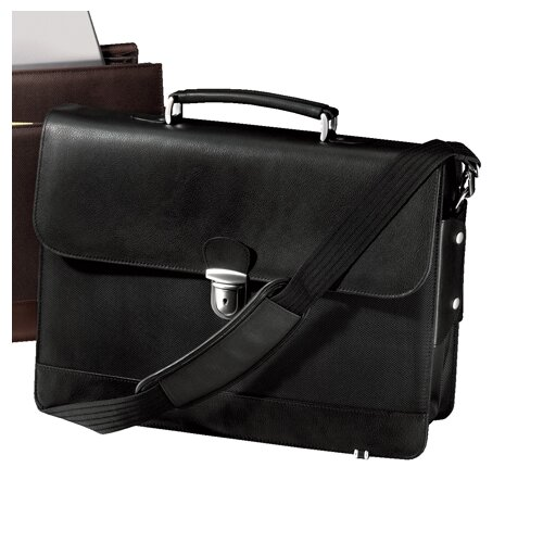 Andrew Philips Metro Leather Laptop Briefcase