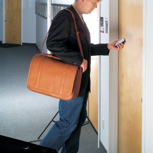 Vaqueta Napa Statesman Leather Laptop Briefcase