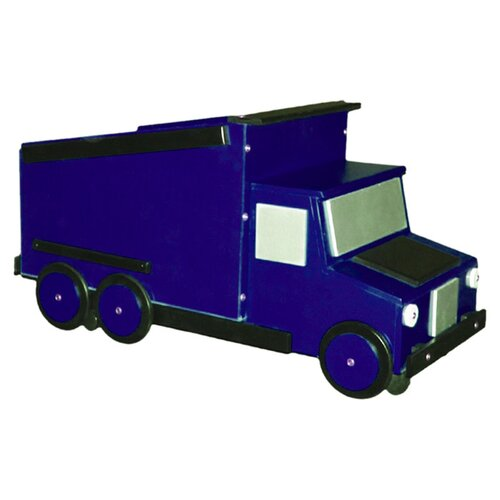 Just Kids Stuff Dump Truck Toy Box