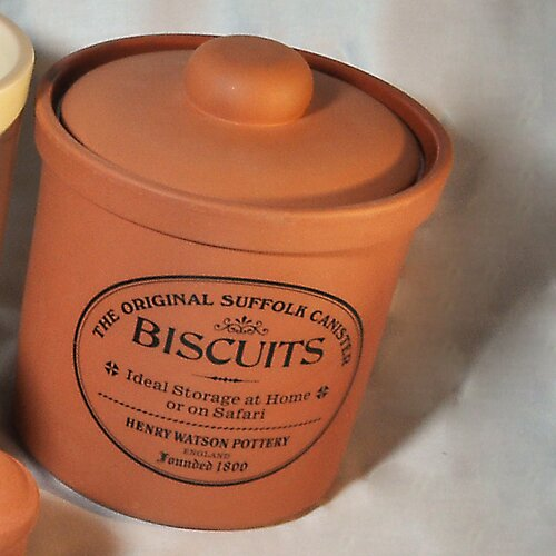 Henry Watson Original Suffolk 80 Oz Biscuit Canister