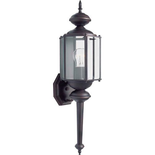 Forte Lighting 1Light Outdoor Wall Lantern