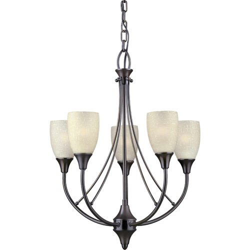Forte Lighting 5 Light Chandelier