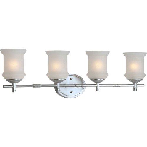 Forte Lighting 4 Light Vanity Light