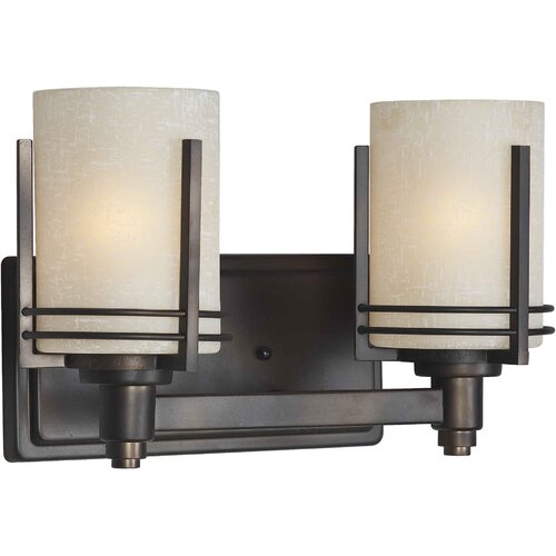 Forte Lighting 2 Light Vanity Light