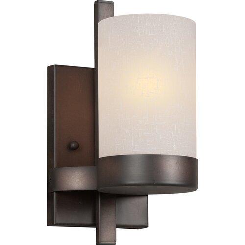 Forte Lighting 1 Light Bracket Wall Sconce