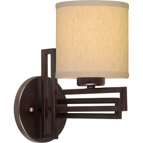 Forte Lighting 1 Light Bracket Wall Sconce