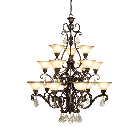 Artcraft Lighting Florence 18 Light Chandelier