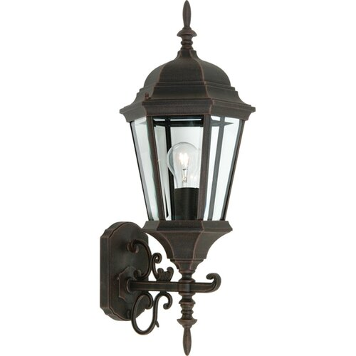 tudor 1 light outdoor wall lantern wayfair