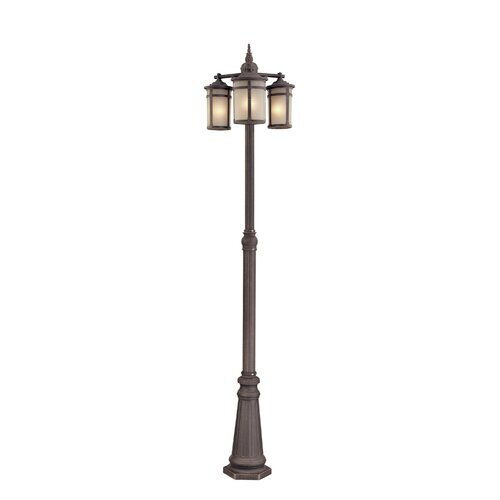 "Artcraft Lighting St. Moritz 3 Light 89"" Post Lantern Set"