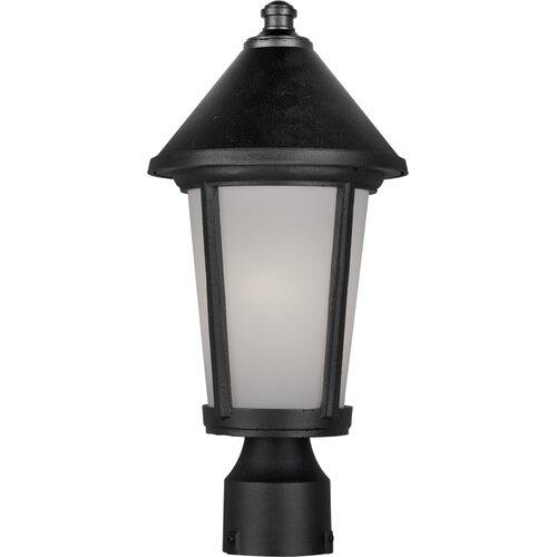 Artcraft Lighting Malibu 1 Light Outdoor Post Lantern