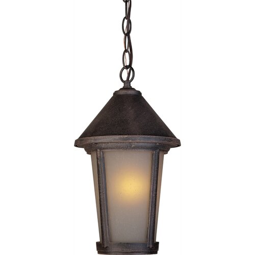 Artcraft Lighting Malibu 1 Light Outdoor Chain Pendant