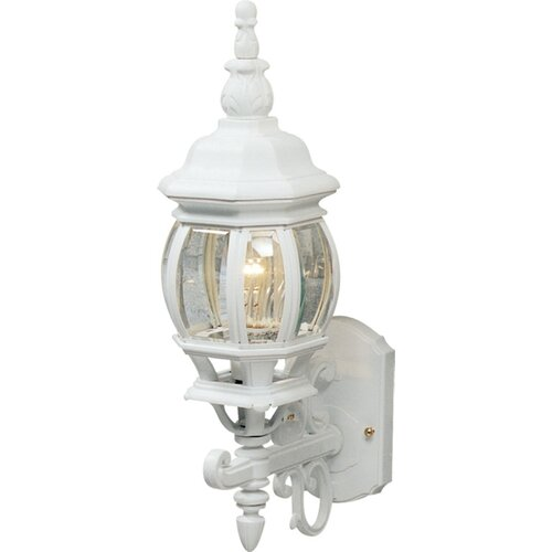 Artcraft Lighting Classico 1 Light Up Light Outdoor Wall Lantern