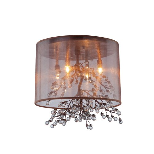 Artcraft Lighting Sherwood 4 Light Semi Flush Mount