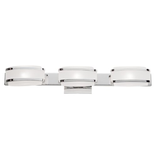 Artcraft Lighting Boulevard 3 Light Bath Vanity Light