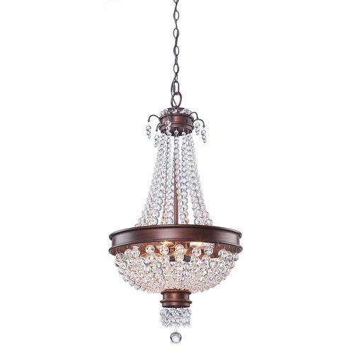 Artcraft Lighting Cobochon 6 Light Chandelier