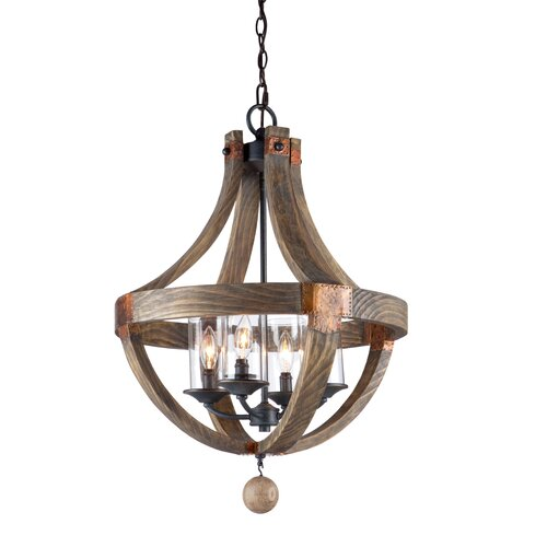 Artcraft Lighting Hockley 4 Light Chandelier