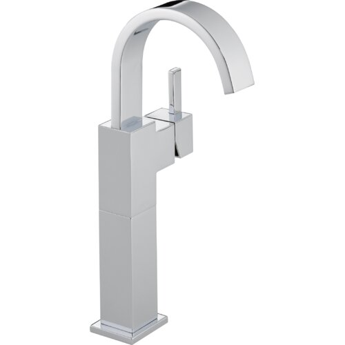 Delta Vero Single Hole Vessel Bathroom Faucet with Riser