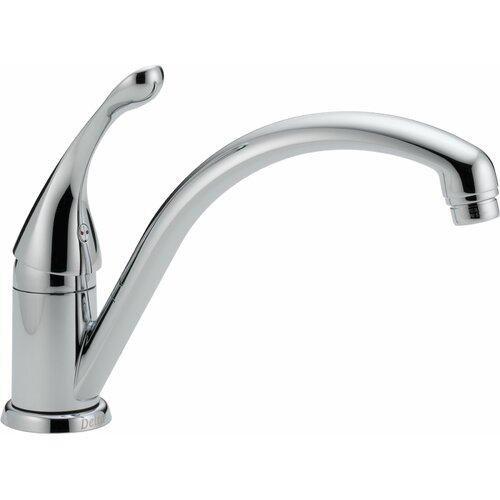 Delta Collins Single Handle Single Hole Kitchen Faucet with Diamond Seal Technology