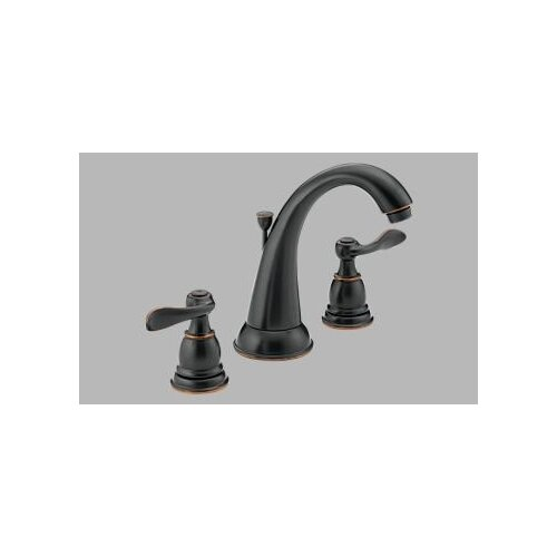 Delta Windemere Widespread Bathroom Faucet with Double Lever Handles