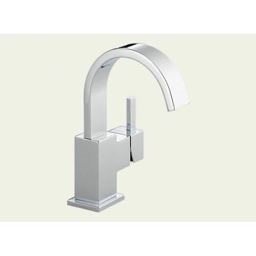 Delta Vero Single Hole Bathroom Faucet with Metal Pop-Up Drain