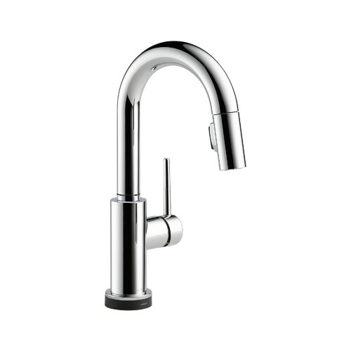 Trinsic Pullout Spray Touch Bar / Prep Faucet with Touch2O, MagnaTite Docking, Diamond Seal and ...