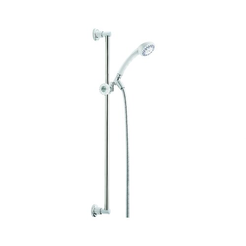"""Delta Classic 30""""  Slide Bar Hand Shower with Stretchable Metal Hose"""