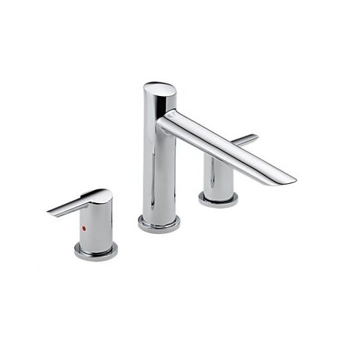 Delta Compel Double Handle Deck Mount Roman Tub Trim