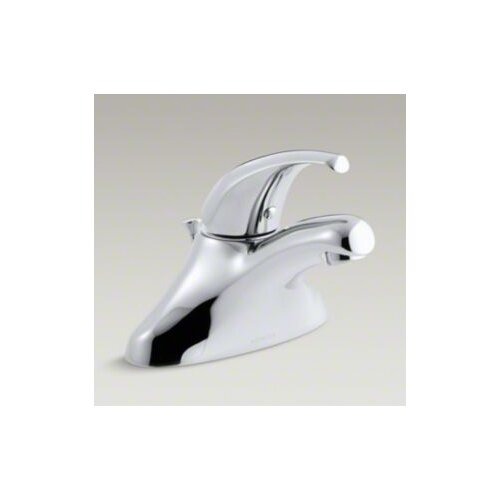 Coralais Single-Control Centerset Lavatory Faucet with Flexible Supplies, Project Pack