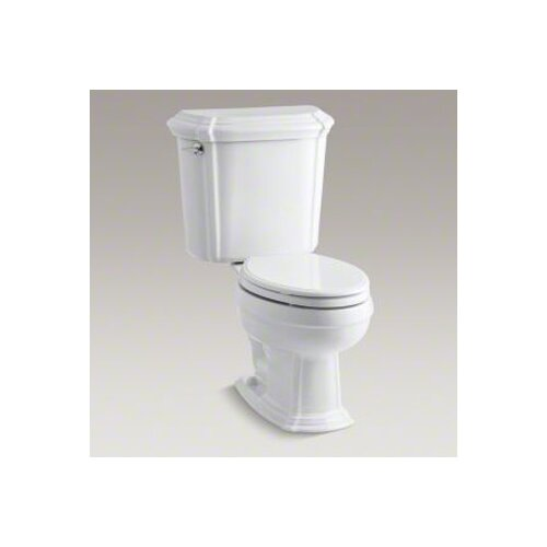 Portrait Two-Piece Elongated 1.6 Gpf Toilet with Ingenium Flush Technology and Left-Hand Trip Lever